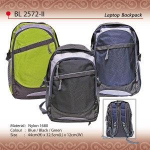 Budget laptop backpack BL2572-II