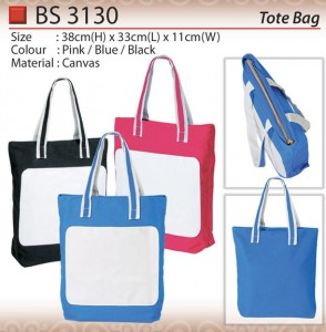 CANVAS TOTE BAG BS3130