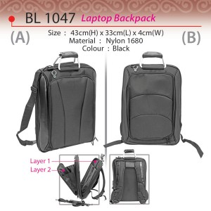 Executive laptop backpack BL1047