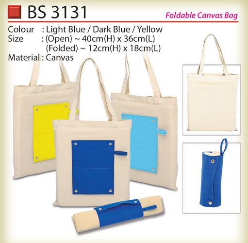 Foldable Canvas Bag BS3131
