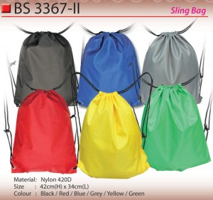 NYLON SLING BAG BS3367-II