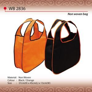 Oval Shape Non woven bag wb2836
