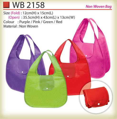 Foldable non  woven bag WB2158