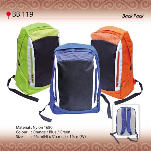Sporty backpack bb119