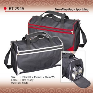 Stylish travel sport bag BT2946