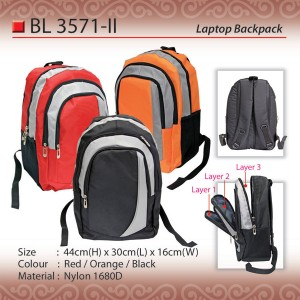 budget laptop backpack BL3571-II