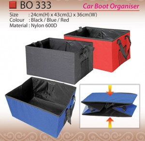 CAR BOOT ORGANIZER BO333
