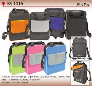 COLOURFUL SLING BAG BS1016