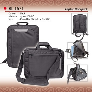 convertible laptop backpack BL1671
