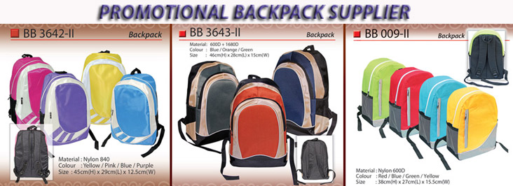 laptop backpack supplier