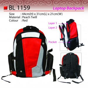 sporty laptop backpack BL1159
