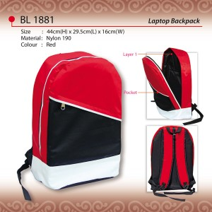 sporty laptop backpack BL1881
