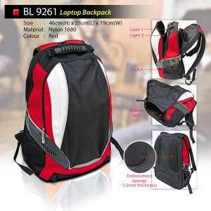 sporty laptop backpack BL9261