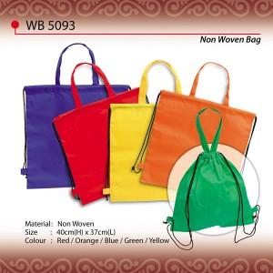 string non woven bag wb5093