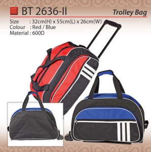 STYLISH TROLLEY BAG BD2636-II